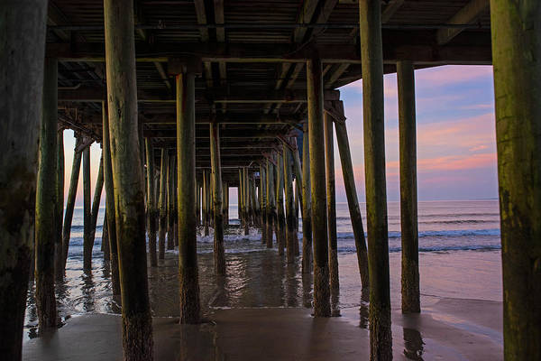 Wall Art - Photograph - Under The Old Orchard Pier At Sunrise Maine by Toby McGuire