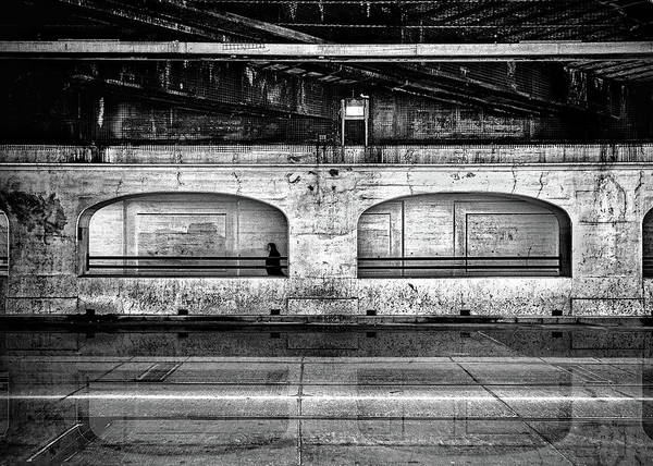 Photograph - Under The Overpass Reflection by Brian Carson