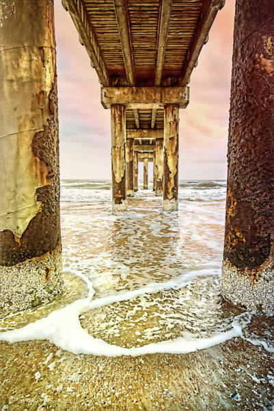 Photograph - Under The Pier by Stacey Sather