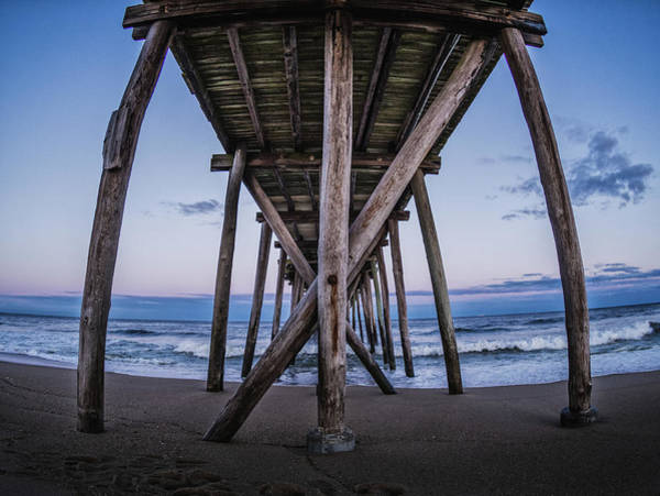 Photograph - Under The Pier by Steve Stanger