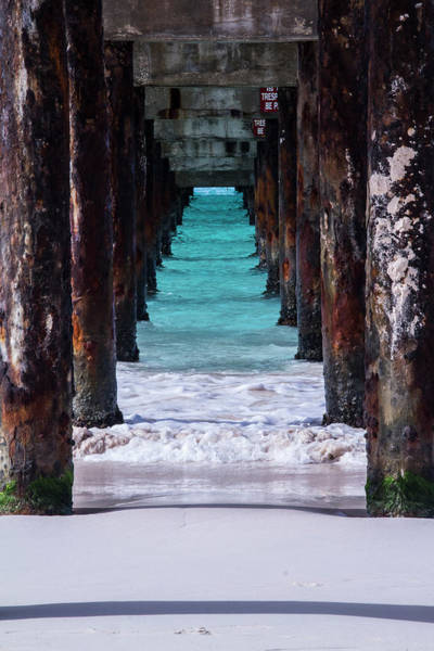 Photograph - Under The Pier by Stuart Manning