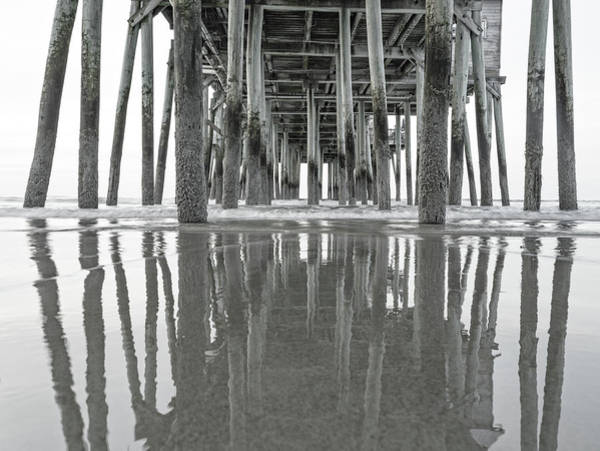 Orchard Beach Photograph - Under The Pier Sunrise Classic by Betsy Knapp