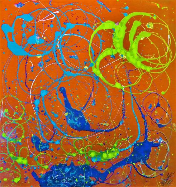 Painting - Under The Sea by Joan Stratton