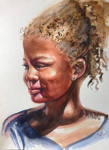 Painting - Under The Sun by Katerina Kovatcheva