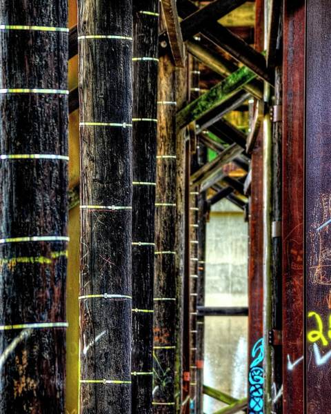 Photograph - Under The Third Street Bridge by Jerry Sodorff