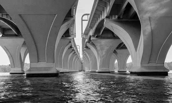 Under The Woodrow Wilson Bridge Art Print