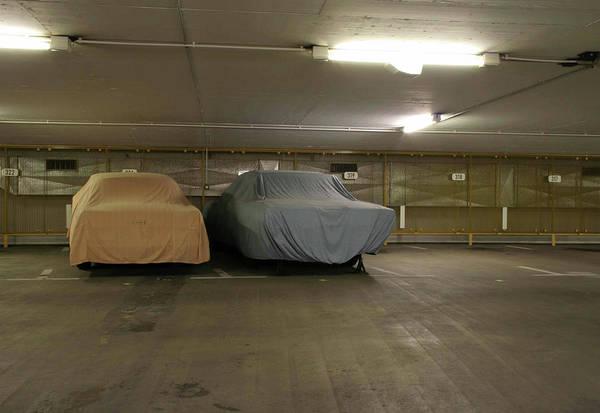 Parking Photograph - Underground Parking by Arnd Dewald