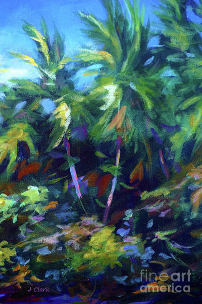 Brac Painting - Undergrowth by John Clark