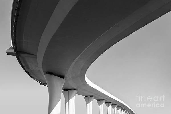 Route Photograph - Underside Of An Elevated Roads by Gubin Yury