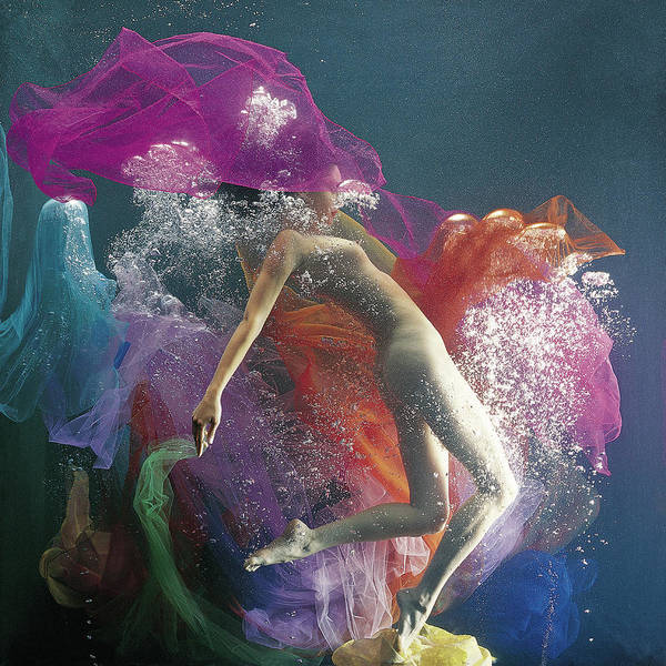 Underwater Photograph - Underwater Dance by Patrizia Savarese