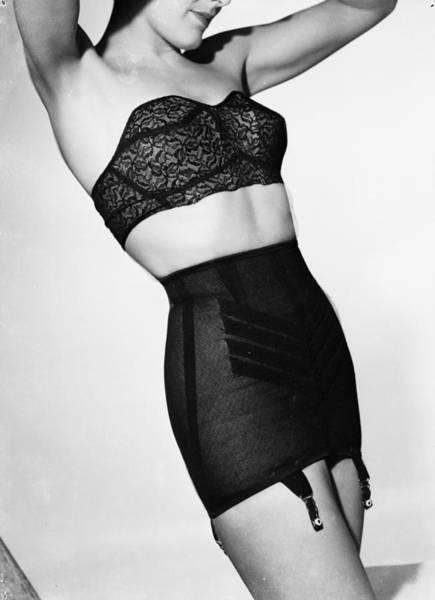 Garter Photograph - Underwear by Chaloner Woods