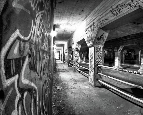 Photograph - Underworld - The Krog Street Tunnel by Mark Tisdale