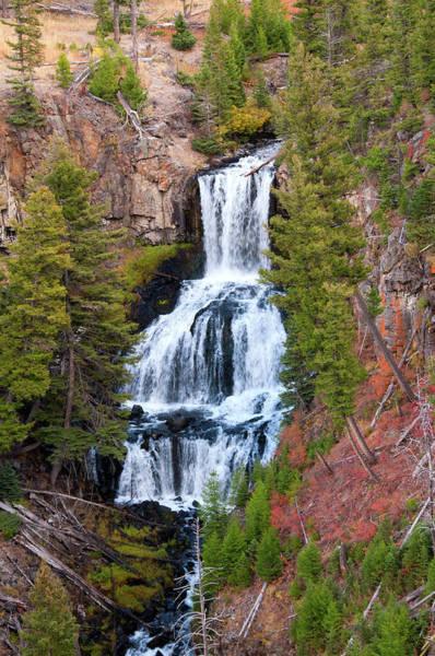 Photograph - Undine Falls by Steve Stuller