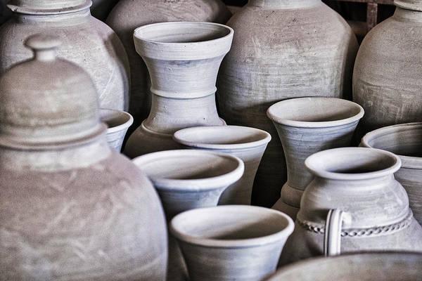 Photograph - Unfinished Pottery - Morocco by Stuart Litoff