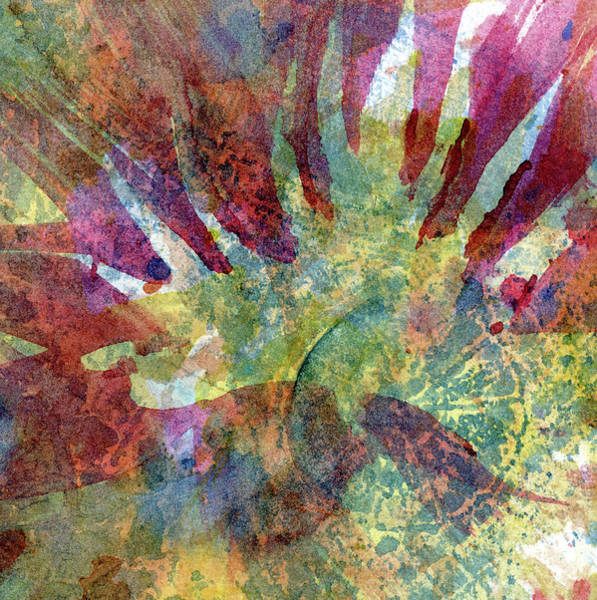 Wall Art - Painting - Unfolding - Abstract Watercolor Painting by Susan Porter