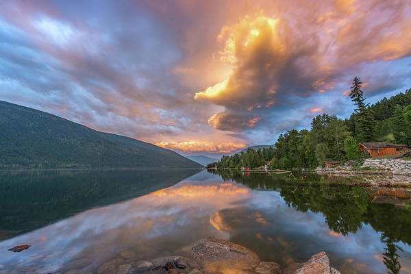 Nelson Bc Photograph - Unforgettable Sunrise by Joy McAdams