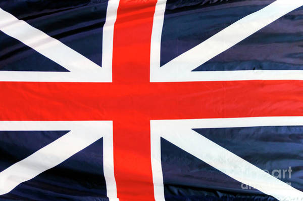 Photograph - Union Jack At The Old State House In Boston by John Rizzuto