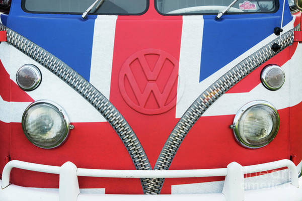 Photograph - Union Jack Split Screen Vw by Tim Gainey