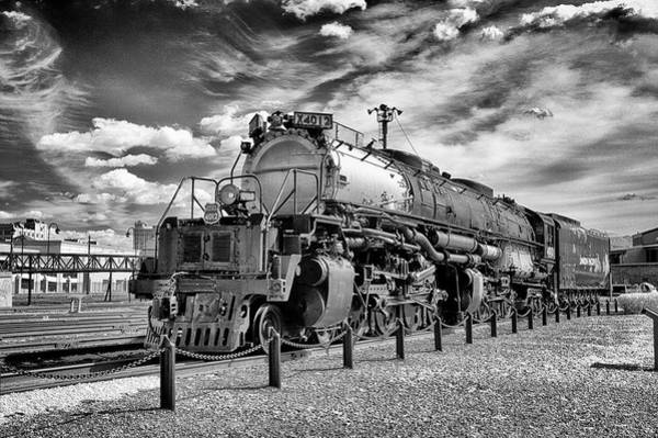 Ir Photograph - Union Pacific 4-8-8-4 Big Boy by Paul W Faust - Impressions of Light