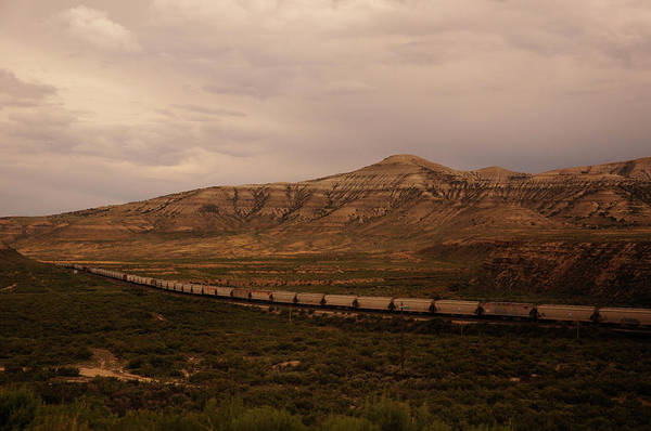 Photograph - Union Pacific At Green River by Chance Kafka