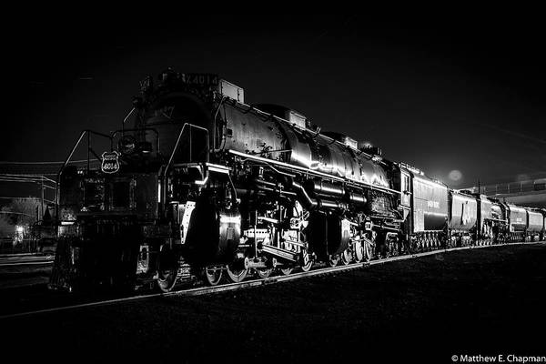 Photograph - Union Pacific Big Boy by Matthew Chapman