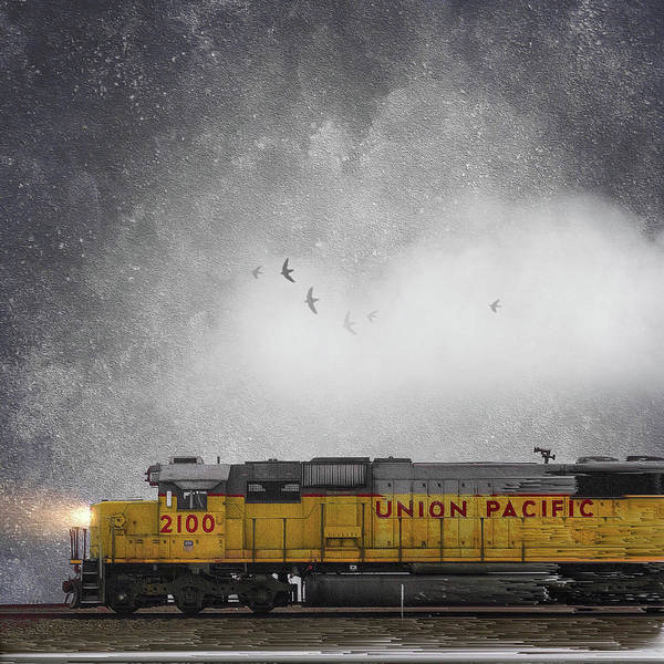 Photograph - Union Pacific by Caroline Jensen