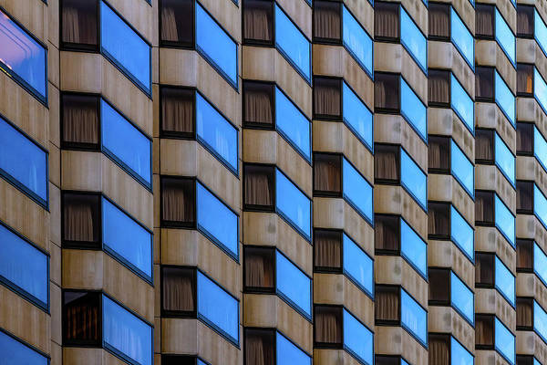 Photograph - Union Square Architectual Abstract by Bill Gallagher