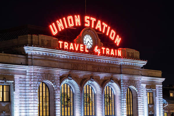 Wall Art - Photograph - Union Station Denver #1 by Stephen Stookey