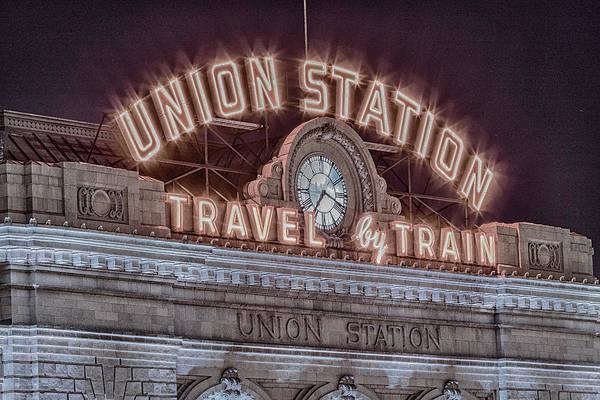 Wall Art - Photograph - Union Station Denver #3 by Stephen Stookey