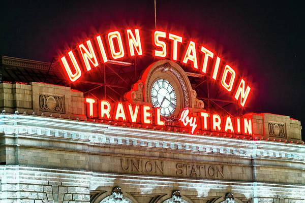 Wall Art - Photograph - Union Station Denver #4 by Stephen Stookey