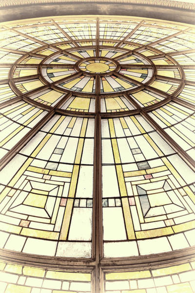 Wall Art - Photograph - Union Station Glass - Indy #3 by Stephen Stookey