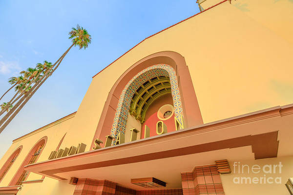 Photograph - Union Station Los Angeles by Benny Marty