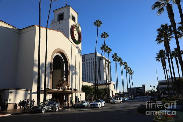Wall Art - Photograph - Union Station Los Angeles I  by Chuck Kuhn
