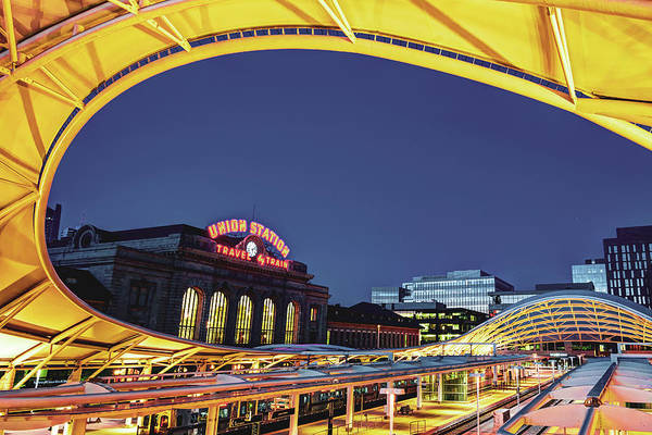 Photograph - Union Station Of Denver Colorado by Gregory Ballos