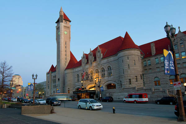 Photograph - Union Station by Steve Stuller
