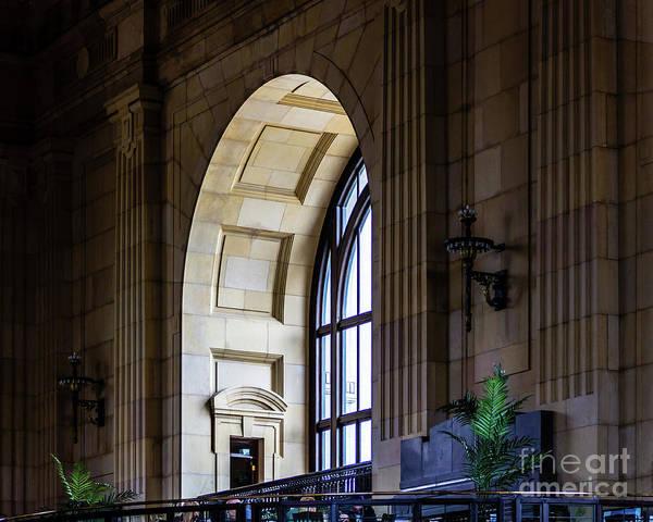 Photograph - Union Station Window by Jon Burch Photography