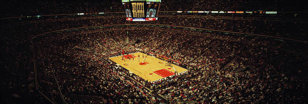 Chicago Bulls Photograph - United Center Chicago Il Usa by Panoramic Images