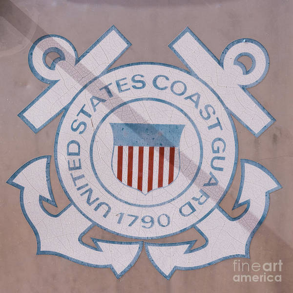 Photograph - United States Coast Guard by Edward Fielding