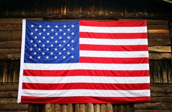 Photograph - United States Flag by Cynthia Guinn