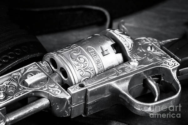 Wall Art - Photograph - United States Outlaw 1851 Revolver by John Rizzuto