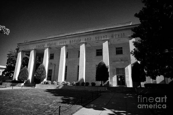 Wall Art - Photograph - United States Post Office And Court House Building Now The Us District Court For The Middle District by Joe Fox