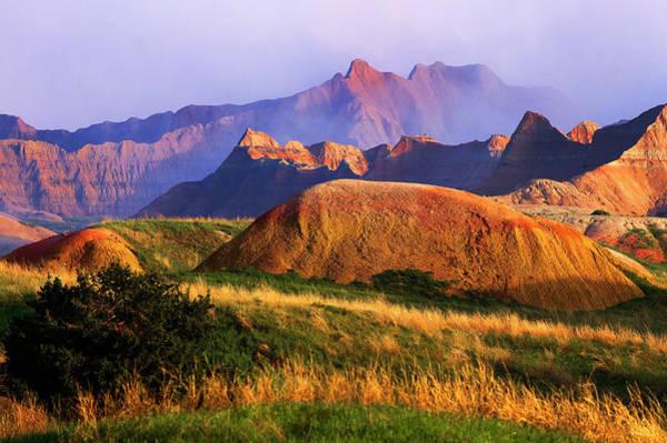 North Dakota Badlands Wall Art - Photograph - United States, South Dakota, Badlands by Frilet Patrick / Hemis.fr