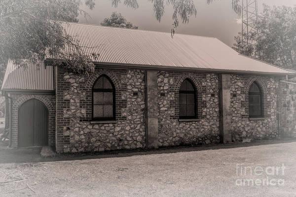 Photograph - Uniting Church, Nannup, Western Australia by Elaine Teague