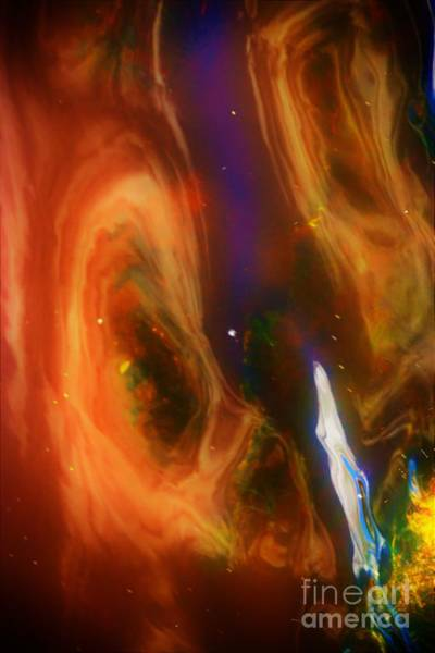 Photograph - Universe In Water by Merle Grenz