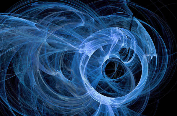 Digital Art - Universe Major Abstract Art Blue by Don Northup