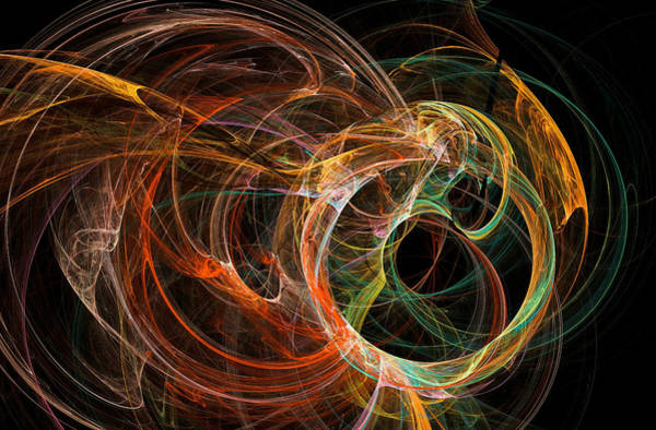 Digital Art - Universe Major Abstract Art Multicolor by Don Northup