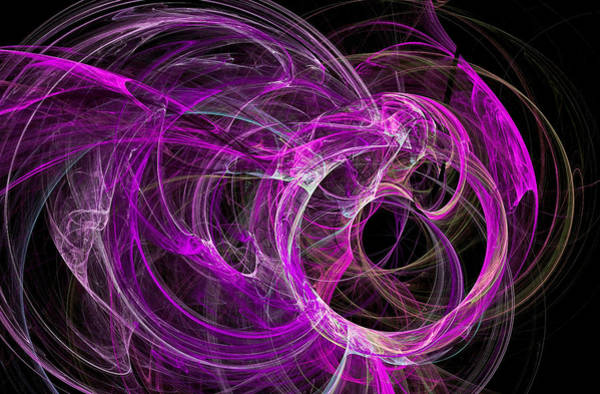 Digital Art - Universe Major Abstract Art Purple by Don Northup