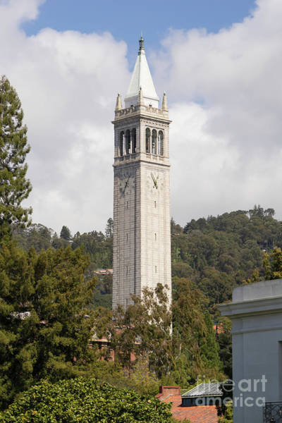 Photograph - University Of California Berkeley Sather Tower The Campanile Dsc6925 by Wingsdomain Art and Photography