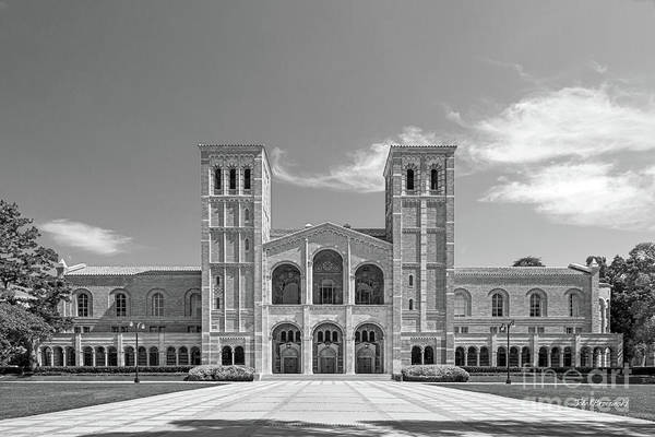 Photograph - University Of California Los Angeles Royce Hall by University Icons