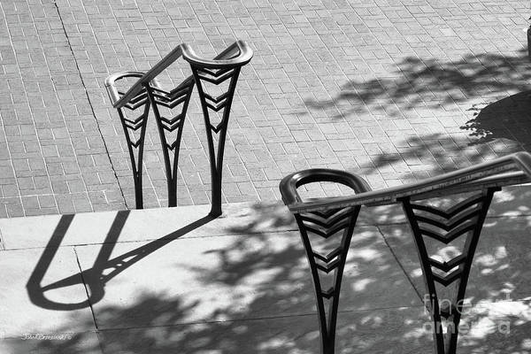 Photograph - University Of Cincinnati Railings by University Icons